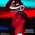 آکورد گیتار آهنگ دوست دارم از رضا ملک زاده