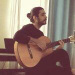 گیتار زدن کسری زاهدی